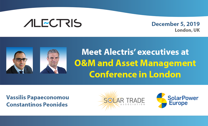 Alectris O&M and Asset Management Conference in London