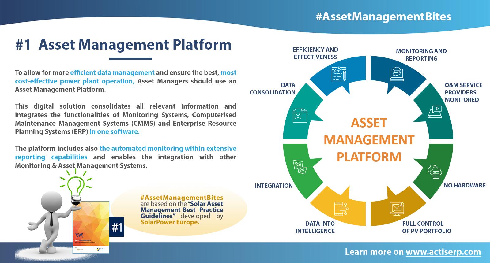 Asset Management Bites nr 1 Asset Management Platform