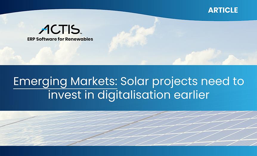emerging markets solar